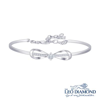 S10273A-The Leo Diamond® 18K/750 White Color Gold Diamond B..