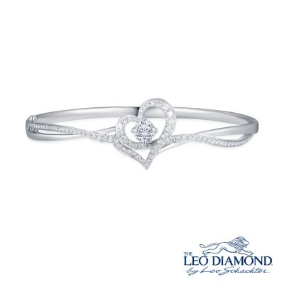S10530A-The Leo Diamond® 18K/750 White Color Gold Diamond B..