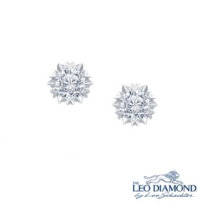 F07560E-The Leo Diamond® 18K/750 White Color Gold Diamond E..