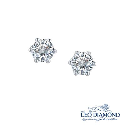 The Leo Diamond<sub>®</sub> 18K/750 White Color Gold Diamond E..