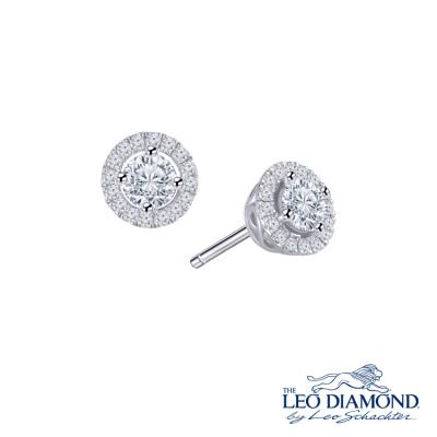 N03815E-The Leo Diamond® 18K/750 White Color Gold Diamond E..