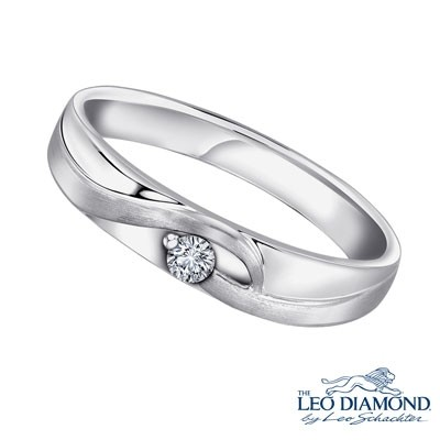 F06333M-The Leo Diamond® 18K/750 White Color Gold Diamond M..