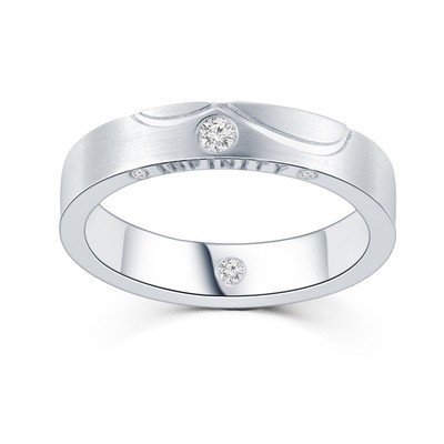 P10998M-The Leo Diamond® 18K/750 White Color Gold Diamond M..