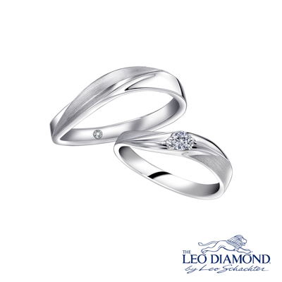 F06260MR-The Leo Diamond® 18K/750 White Color Gold Diamond W..