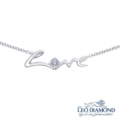 The Leo Diamond<sub>®</sub> 18K/750 White Color Gold Diamond N..