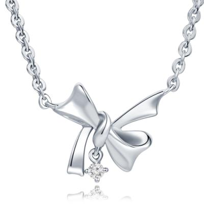 C07313N-Silver / 925  Silver 925 Necklace