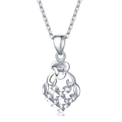 C07354P-14K/585 White Color Gold Gold Pendant