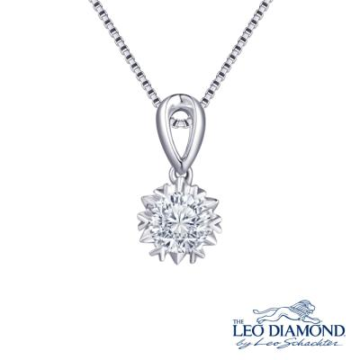 The Leo Diamond<sub>®</sub> 18K/750 White Color Gold Diamond P..