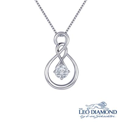 F07590P-The Leo Diamond® 18K/750 White Color Gold Diamond P..