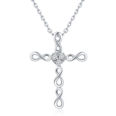 S06980P-18K/750 White Color Gold Diamond Pendant