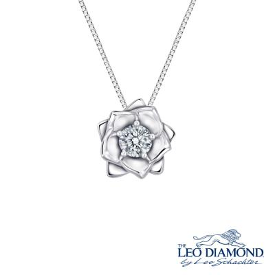 S09177P-The Leo Diamond® 18K/750 White Color Gold Diamond P..