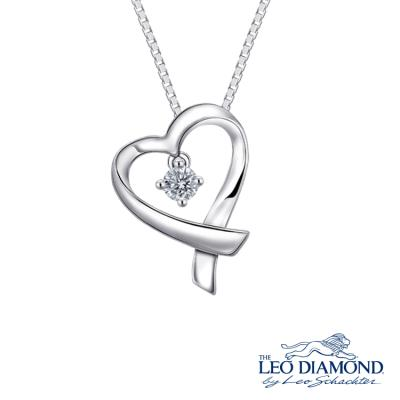 S09428P-The Leo Diamond® 18K/750 White Color Gold Diamond P..