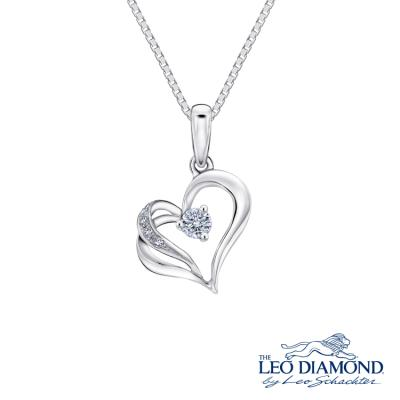 S09429P-The Leo Diamond® 18K/750 White Color Gold Diamond P..