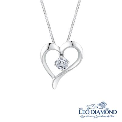 S09600P-The Leo Diamond® 18K/750 White Color Gold Diamond P..