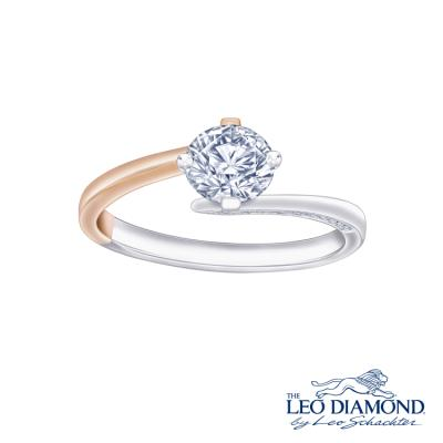 N03963R-The Leo Diamond® 18K/750 Rose and White Color Gold ..