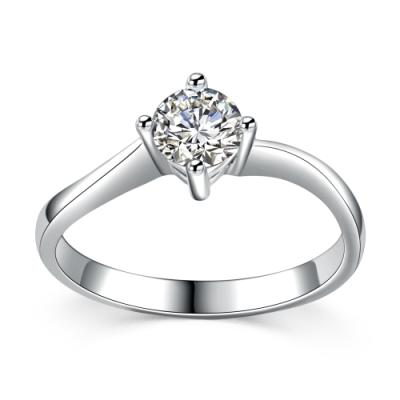 D00544R-18K/750 White Color Gold Diamond Ring