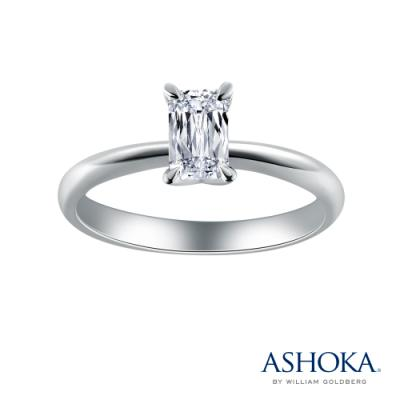 D00616R-ASHOKA® 18K/750 White Color Gold Diamond Ring