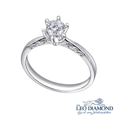 F03356R-The Leo Diamond® 18K/750 White Color Gold Diamond R..