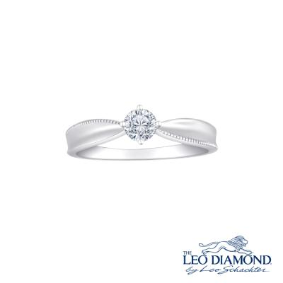 F03627R-The Leo Diamond® 18K/750 White Color Gold Diamond R..
