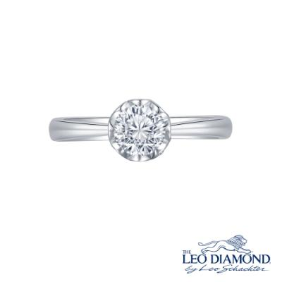 L02875R-The Leo Diamond® 18K/750 White Color Gold Diamond R..