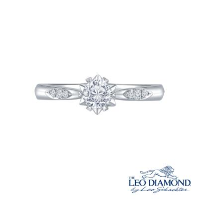 L02900R-The Leo Diamond® 18K/750 White Color Gold Diamond R..