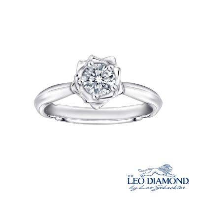 S09177R-The Leo Diamond® 18K/750 White Color Gold Diamond R..
