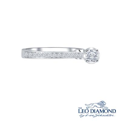 S10012R-The Leo Diamond® 18K/750 White Color Gold Diamond/C..