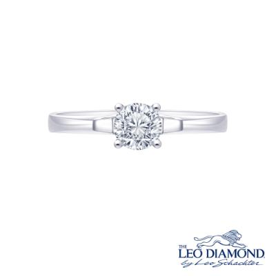 S10693R-The Leo Diamond® 18K/750 White Color Gold Diamond R..