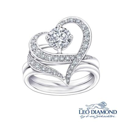 S04934S-The Leo Diamond® 18K/750 White Color Gold Diamond S..
