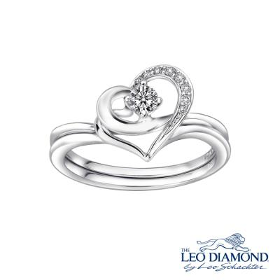 S05735S-The Leo Diamond® 18K/750 White Color Gold Diamond S..